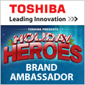 Toshiba Brand Ambassador