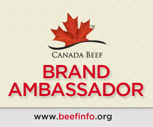 Canada Beef Brand Ambassador