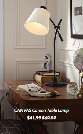 Canvas Trend Alert Canadian Tire Canrson Table Lamp