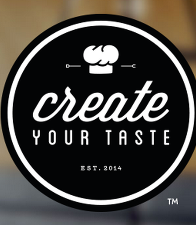 create your taste logo