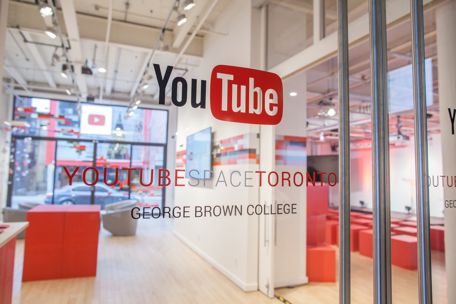 youtube space opens studio space in toronto she u0027s connected