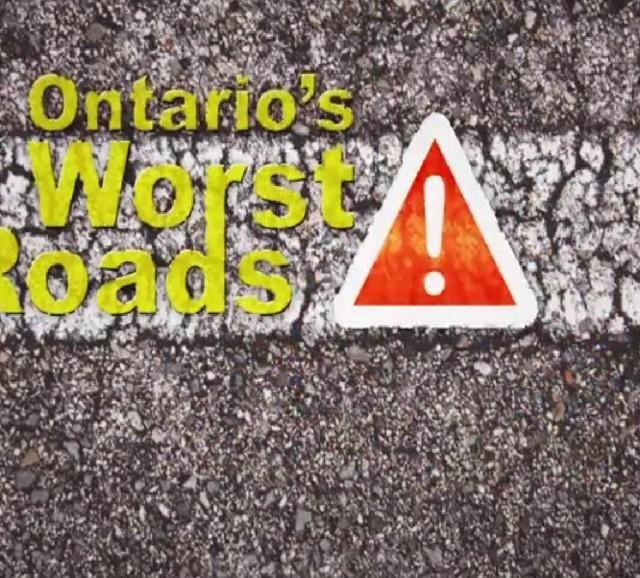ontario worst roads