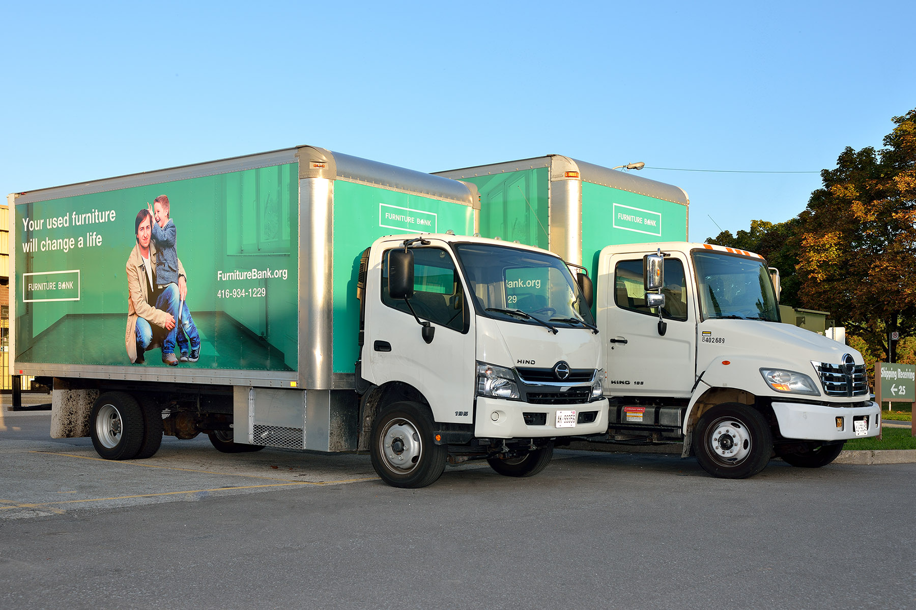 Furniture Bank Trucks Come To Your Place To Pick Up Your Used Furniture To  Give To