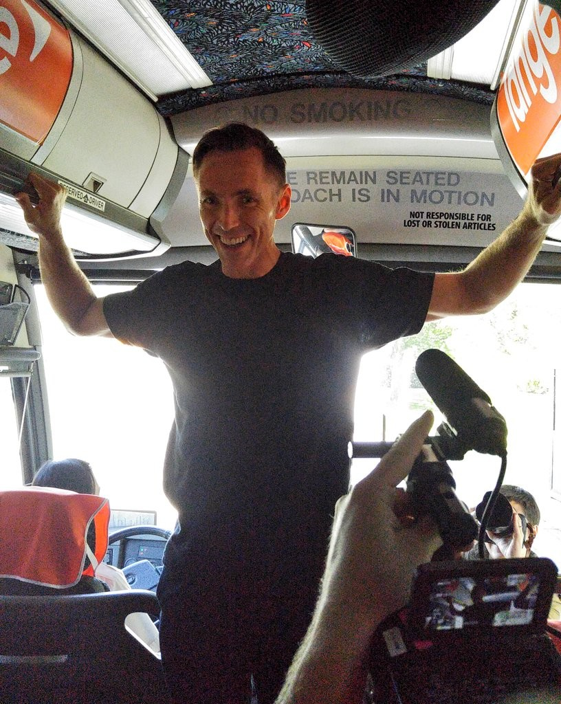Steve Nash Jumps on Bus for the Road to a BrightWayFoward Tour June 10