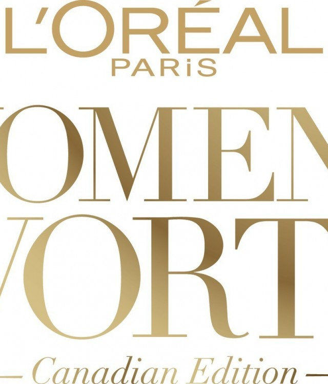 L'Oréal Paris Canada Women of Worth (CNW Group/L'Oréal Paris Canada)