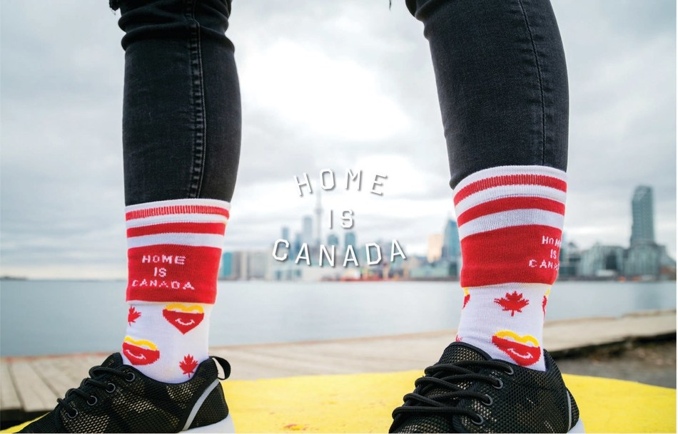 McDonald's® Canada is partnering with homegrown Canadian brand, Peace Collective, as the exclusive designers of the McHappy Day® x Peace Collective collection. This year, McHappy Day is Wednesday, May 8th. /Photo courtesy: Josh Mankz (CNW Group/McDonald's Canada)