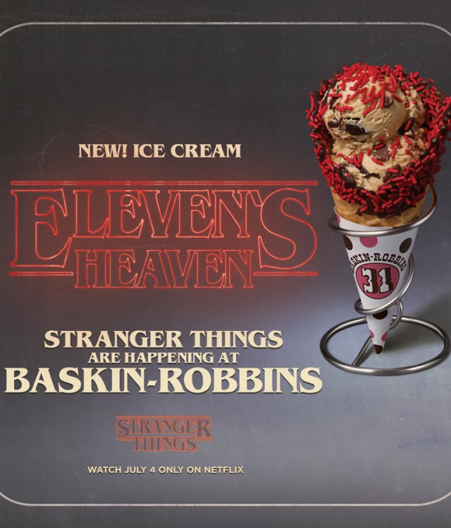 BR's featured flavour - Eleven's Heaven (CNW Group/Baskin Robbins)