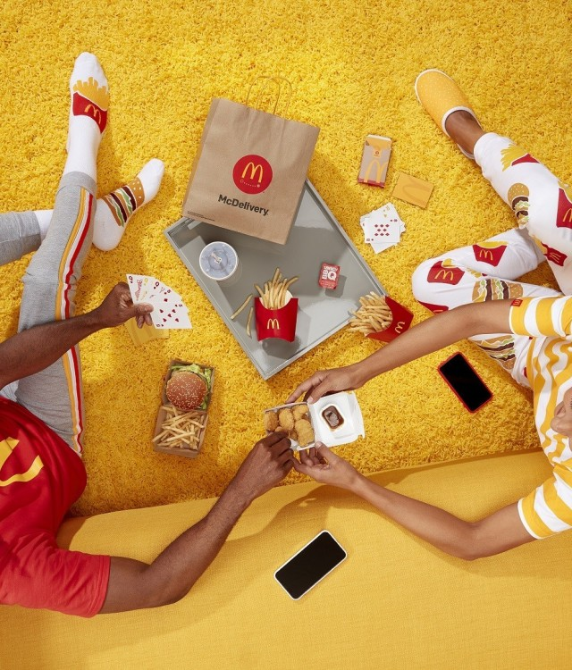 Join the Global #McDelivery celebration and order McDonald's on September 19, 2019 (CNW Group/McDonald's Canada)