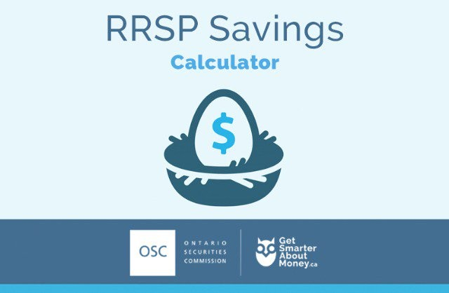 rrsp savings calculator
