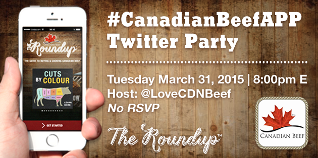 Canadian Beef Twitter Party