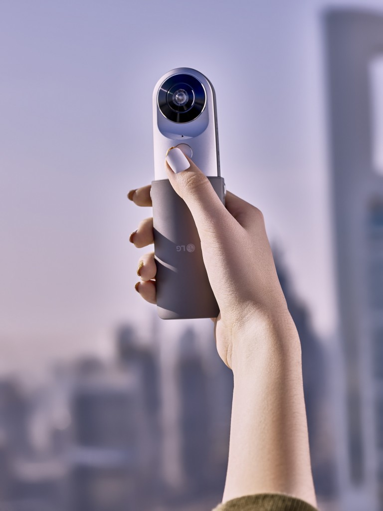 LG 360 CAM available April 8 (CNW Group/LG Electronics Canada)