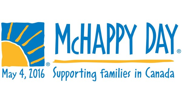 May 4th is McHappy Day!