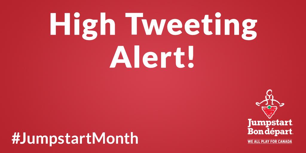 High-Tweeting-Alert!