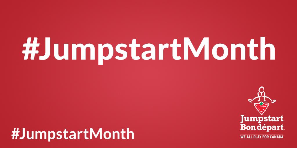 #JumpstartMonth