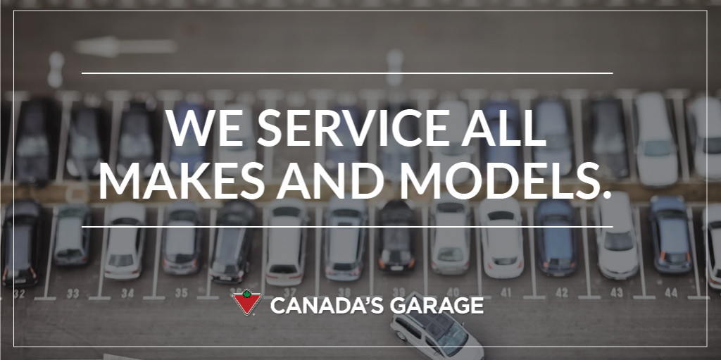 We service all makes and models. Bring your vehicle to any of our 3,000 licensed technicians for expert guidance. #CanadasGarage