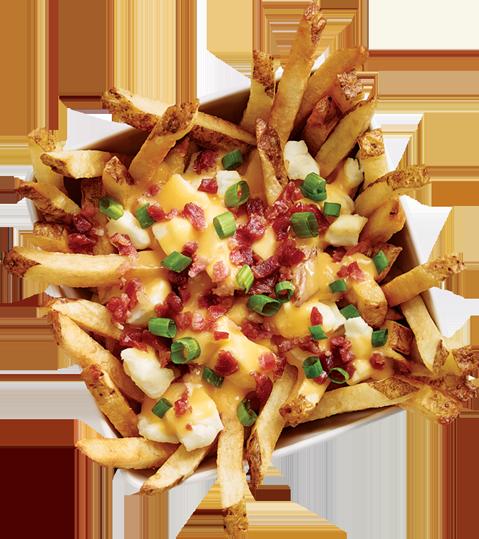 new york fries bacon-poutine